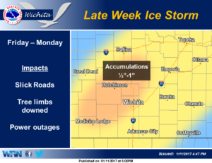 Weekend Ice Storm