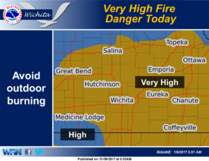 High Fire Danger Monday
