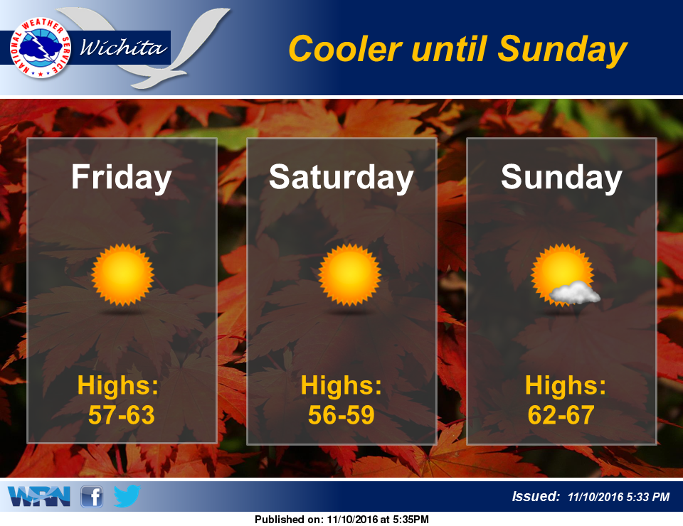 Weather For Sunday : Pleasant weather for the weekend salina post