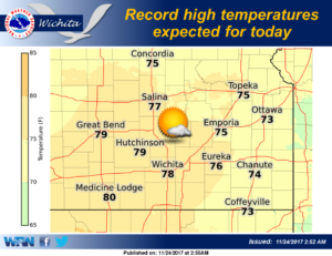 Record highs set Thursday more possible Friday