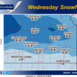 Wednesday snowfall forecast