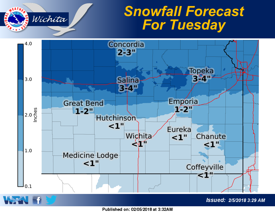 Weather: Snow expected to develop overnight