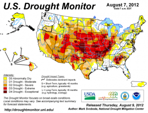 Report: Drought Worsens In Key Farm States