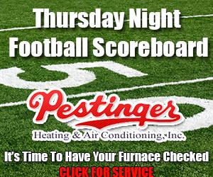 Thursday Night Football Scoreboard