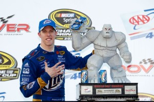 Keselowski emerges late to win at Dover
