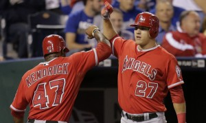 Kendry Morales' 2-run shot sparks Angels' rally in 8th vs. Royals