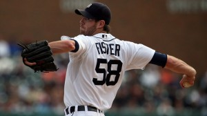 Doug Fister gets AL-record 9 straight K's; Tigers keep Central lead