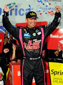 Bowyer wins at Charlotte on disastrous night for Keselowski