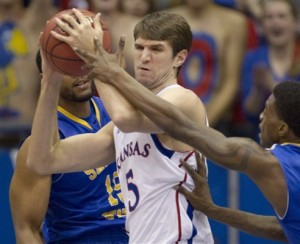 Withey's triple-double leads KU past San Jose St