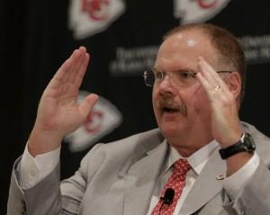 Chiefs introduce Andy Reid as new head coach