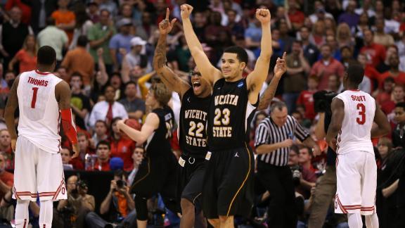 Wichita State stuns OSU, off to first Final Four since 1965