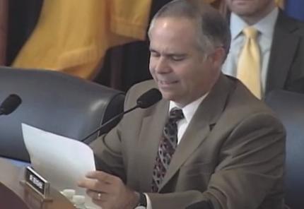 Huelskamp: Bureaucrat Can't Justify His Own $55k Bonus  (Watch Video )