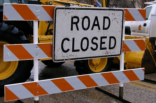 Portion Of Saline County Road Closed