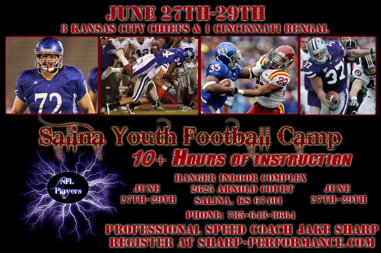NFL Players Coming to Salina For Youth Camp