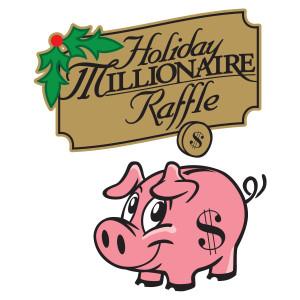 Holiday Millionaire Raffle Logo