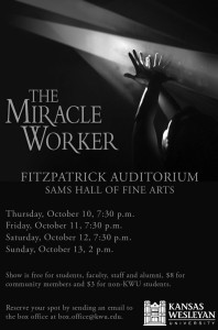 The Miracle Work to be performed at KWU