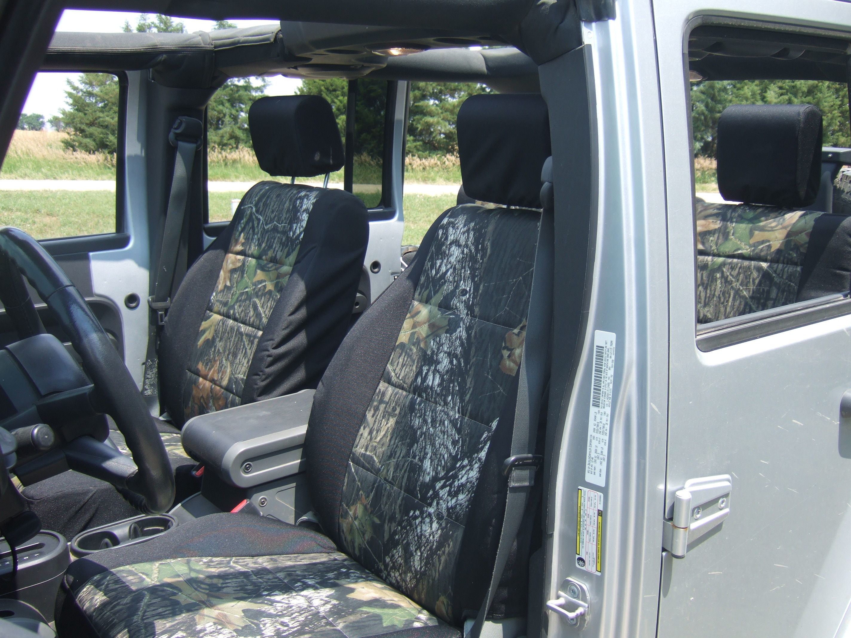 DSCF0666 DSCF0703 DSCF0720 Take A Look At These High Quality Seat Covers On This Jeep JK