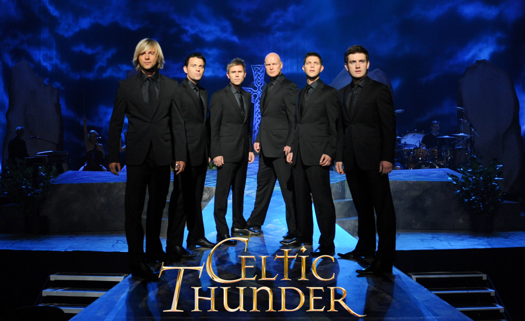 Celtic Thunder is coming to Salina on November 24th.