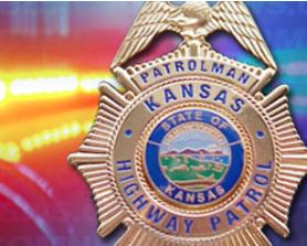 Kansas man hospitalized after semi rolls