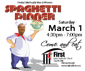 2014 spaghetti dinner Salina Post ad