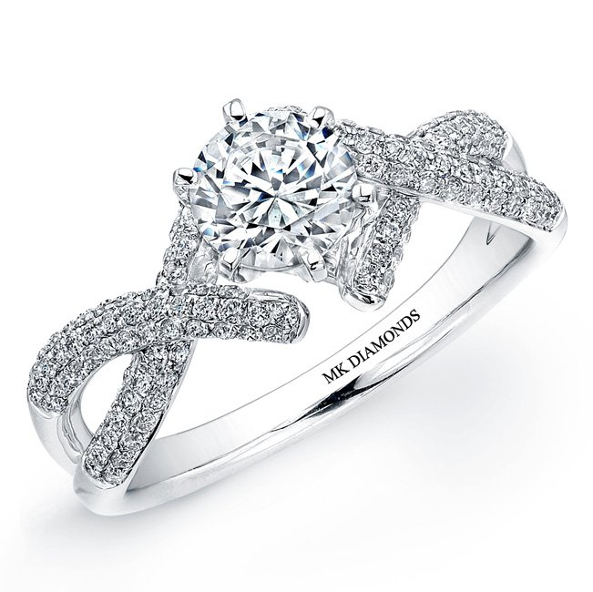 mk diamond ring