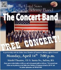 Air Force Academy  Band to perform in Salina