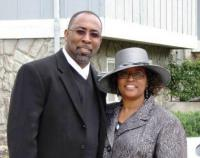 Rev. Allen D. Smith with wife Shalonda Smith