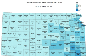 Unemployment drops in Saline and neighboring counties