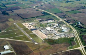 Cowley County's Strother Field is home to the GE Aviation plant.