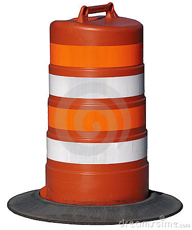 orange barrel