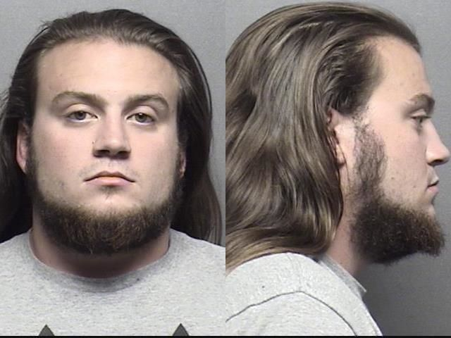 Name: Hatfield,Joshua Isaiah           Charges	: X: Burglary; Non-dwelling w/ intent to commit felony/theft/sexually motivated crime	5000.00 Theft of property or services; Value less than $1,000	1000.00 Criminal damage to property; Without consent value $1000 to $25,000	1000.00 Liquor; Purchase/consumption alcoholic liquor/CMB by minor