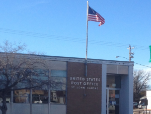 Post office in St. John