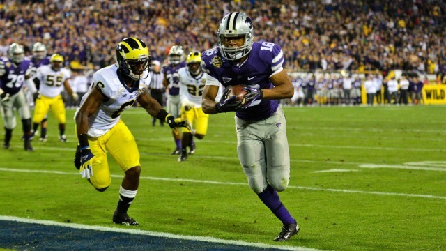 NCAA Football: Buffalo Wild Wings Bowl-Michigan vs Kansas State