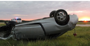 KHP: Driver leaves scene of rollover accident north of I-70