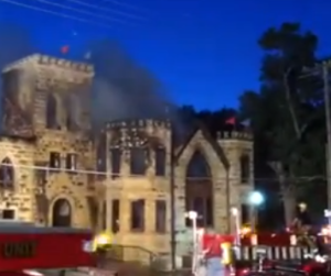Great Plains Theatre fire