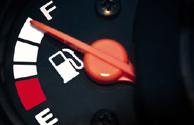 gas pump fuel gauge