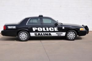 salina police patrol car