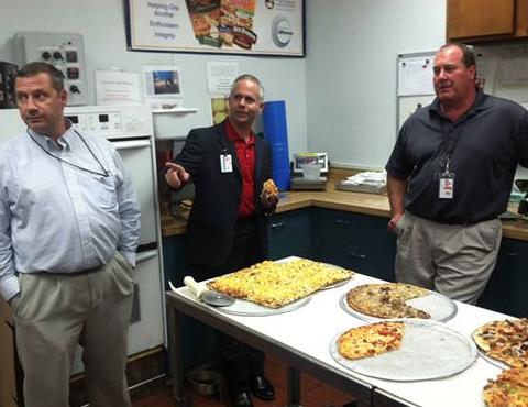Congressman Huelskamp visits Schwan's Global Supply Chain in Salina.