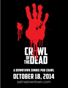 """Crawl of the Dead"" Zombie Pub Crawl Set For October 18"""