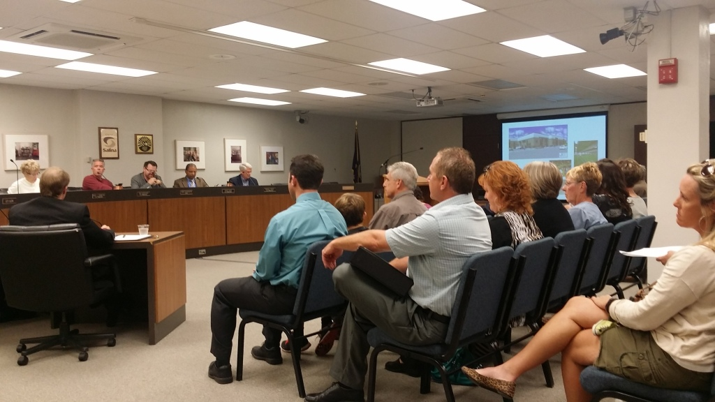 Monday night's Salina City Commission meeting
