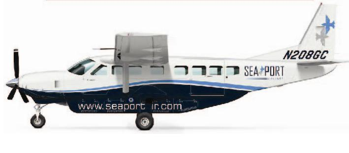 Seaport Airlines Plane