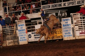 Rodeo road leads from Abilene to Las Vegas