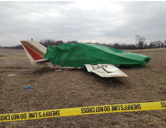 The plane crash on Sunday, Nov. 30 near Booneville, Mo.