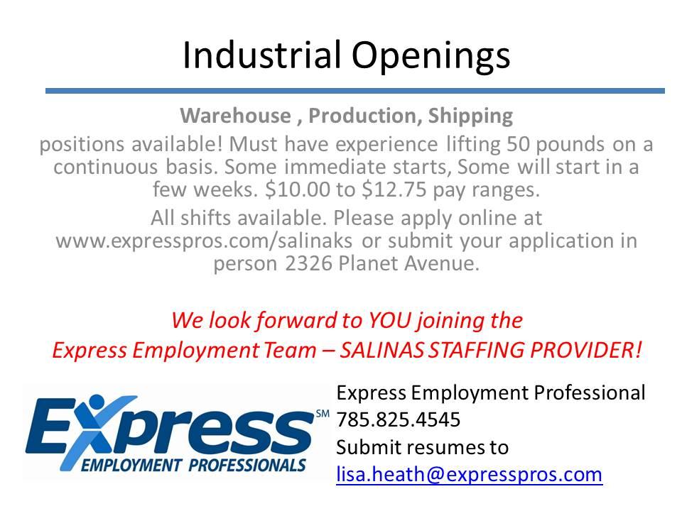 Industrial Openings (1)