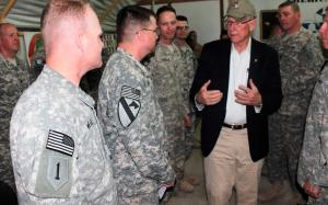 'Devil' Brigade Soldiers Return to Kansas