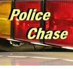 Police in Brief Chase With Motorcycle Monday Evening