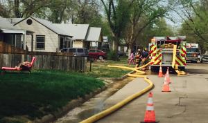 House fire on Hancock