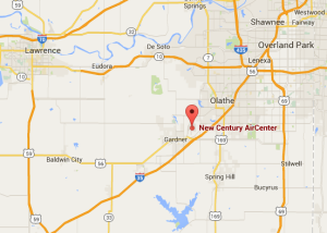 News Century Airport Google map