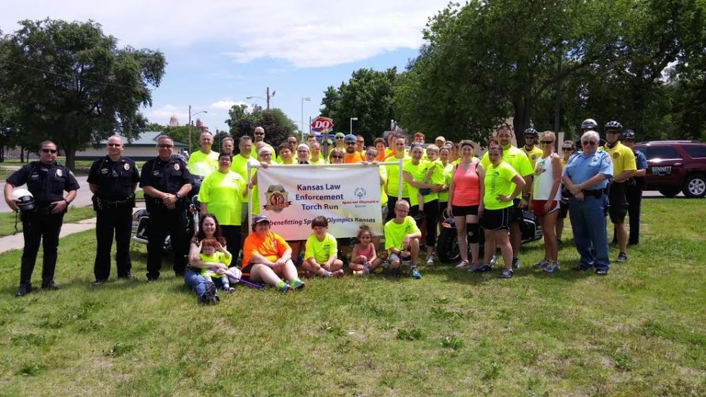 5-27 Kansas Law Enforcement Torch Run 1