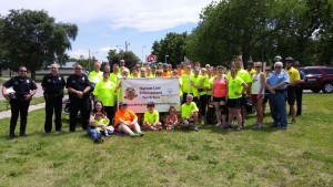 5-27 Kansas Law Enforcement Torch Run 1